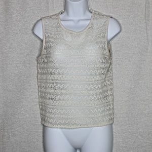 Frenchi Lace Crop Top